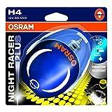 Osram NIGHT RACER Plus H4, Motorradscheinwerfer,...