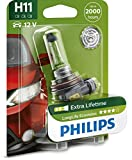 H11 Philips LongLife EcoVision Halogen12V 55W 4 x...