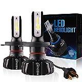 CATIZON H4(9003)LED Scheinwerferlampe Lüfterlos...