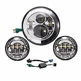 LED-Scheinwerfer Daymaker, 17,8 cm und...