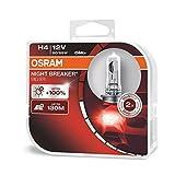 OSRAM NIGHT BREAKER SILVER H4, +100% mehr...