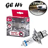 2x General Electric GE Megalight Ultra +120% H4...