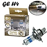 2x General Electric GE Megalight Ultra +130% H4...