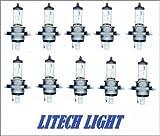 10 x H4 Autolampe Autoglühlampen LONG LIFE 55/60...