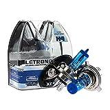 LETRONIX Halogen Auto Lampen H4 12V 8500K Kalt...