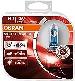 OSRAM NIGHT BREAKER LASER H4, +150% mehr...