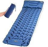 Isomatte Camping Schlafmatte mit Fußpresse Pumpe...