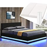 ArtLife LED Polsterbett Toulouse 140 × 200 cm mit...