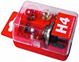 UNITEC 73081 Lampenersatzkasten H4 rot