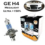 2x General Electric GE H4 60/55W 12V P43t...