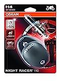 Osram NIGHT RACER 110 H4, Motorcycle Lamps,...
