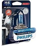 Philips 12342CVUBW Crystalvision Ultra Moto H4...
