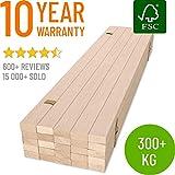 Hansales Rollrost 90x200cm - 300 kg 25 Leisten -...