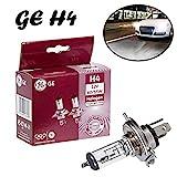 2x General Electric GE H4 60/55W 12V P43t 50440MPU...