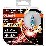 Osram NIGHT BREAKER 200, H7, + 200% Licht,...