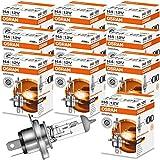 10x OSRAM Lampe Halogenlampe Glühlampe H4...